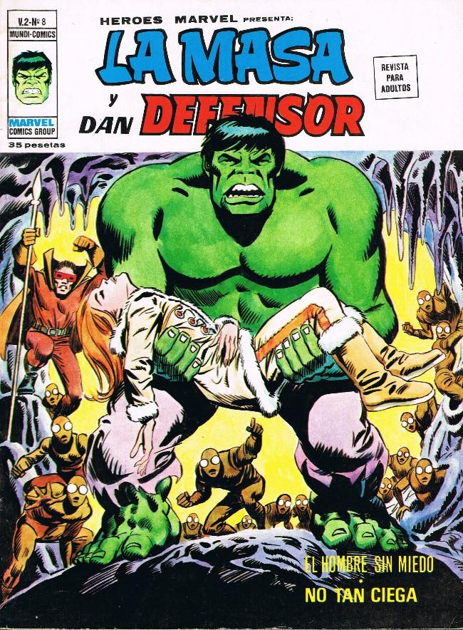 Couverture de Héroes Marvel (Vol.2) -8- No tan ciega