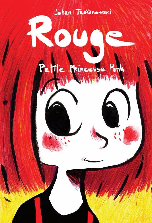 Couverture de Rouge - Petite princesse punk