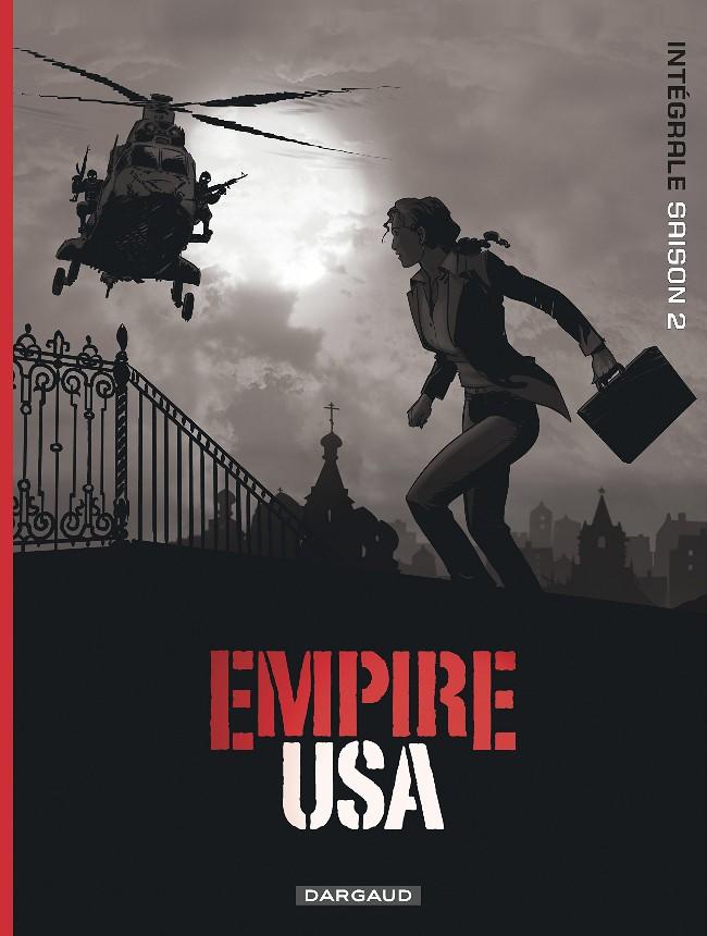 Couverture de Empire USA -INT2- Intégrale saison 2