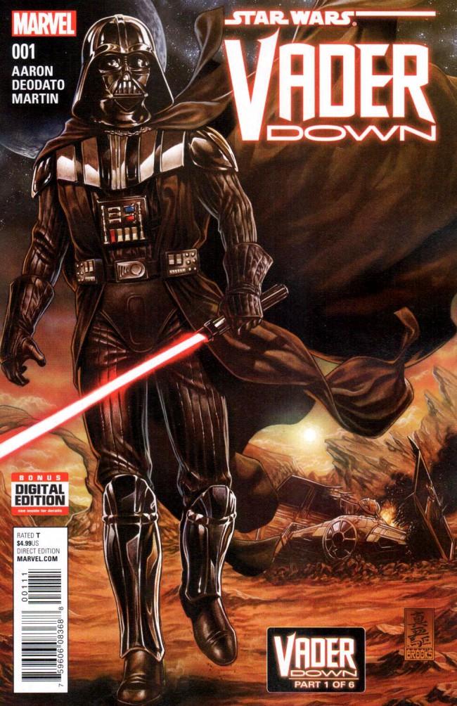 Couverture de Star Wars: Vader Down (2016) -1- Vader Down Part 1 of 6