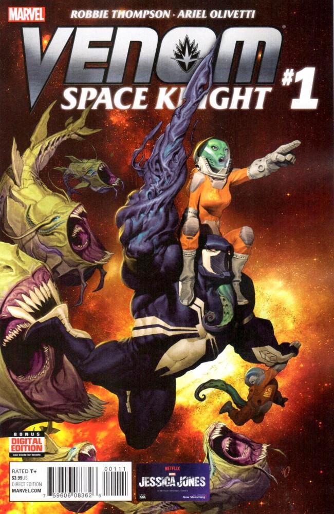 Couverture de Venom: Space Knight (2016) -1- Issue 1