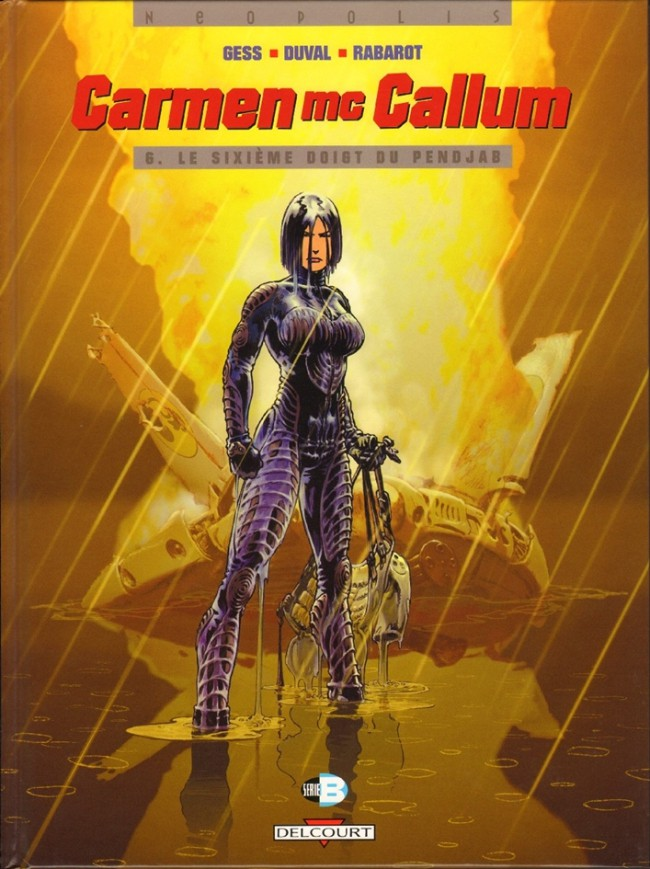 Couverture de Carmen Mc Callum -6- Le sixième doigt du Pendjab