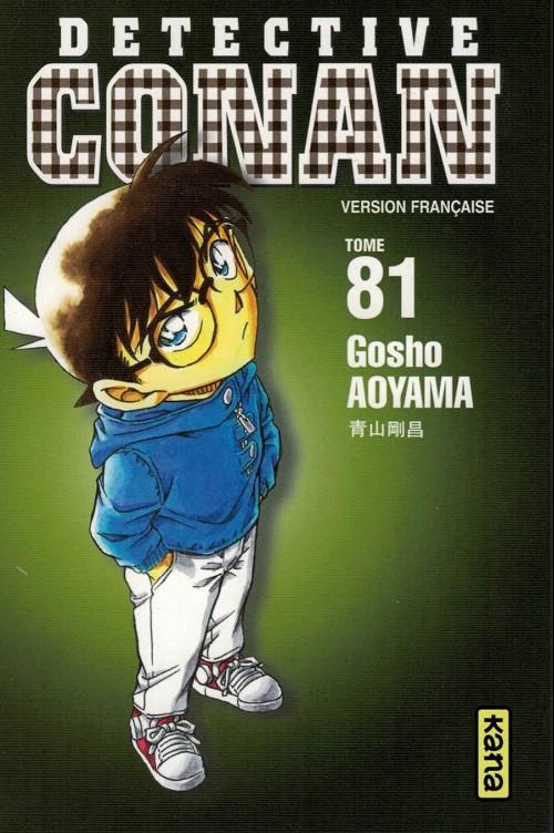 Couverture de Détective Conan -81- Tome 81