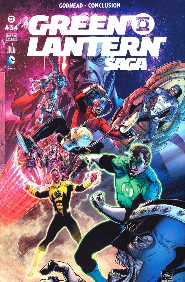 Couverture de Green Lantern Saga -34- Godhead - Conclusion