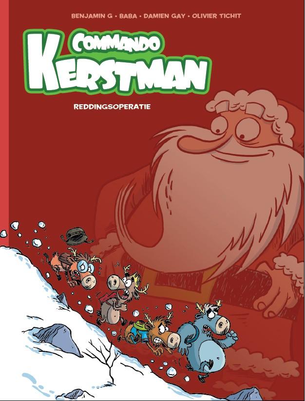 Couverture de Commando Kerstman -1- Reddingsoperatie