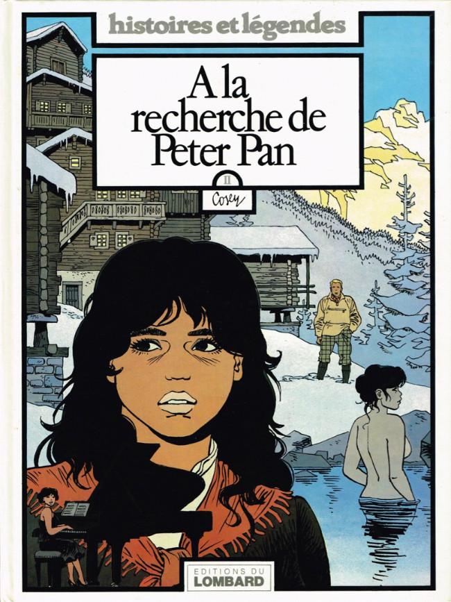 Couverture de A la recherche de Peter Pan -2- A la recherche de Peter Pan 2