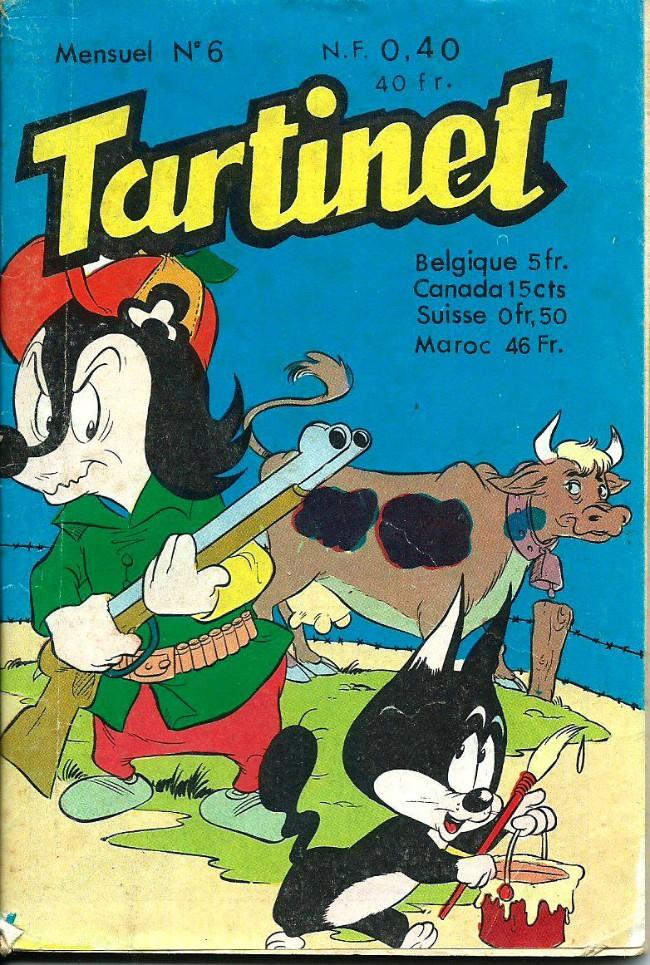 Couverture de Tartinet -6- Monsieur Robinson ne reçoit pas