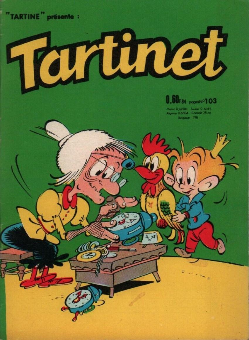 Couverture de Tartinet -103- Des gâteaux pour les martiens