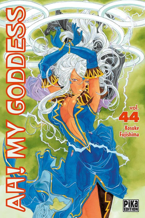 Couverture de Ah! My Goddess -44- Tome 44