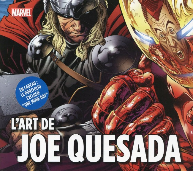 Couverture de (AUT) Quesada - Marvel - L'Art de Joe Quesada