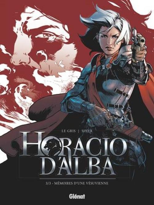 Couverture de Horacio d'Alba -3- Mémoires d'une Vésuvienne