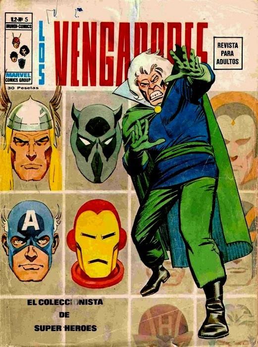 Couverture de Vengadores (Vol.2) (Los) -5- El Coleccionista de Superheroes