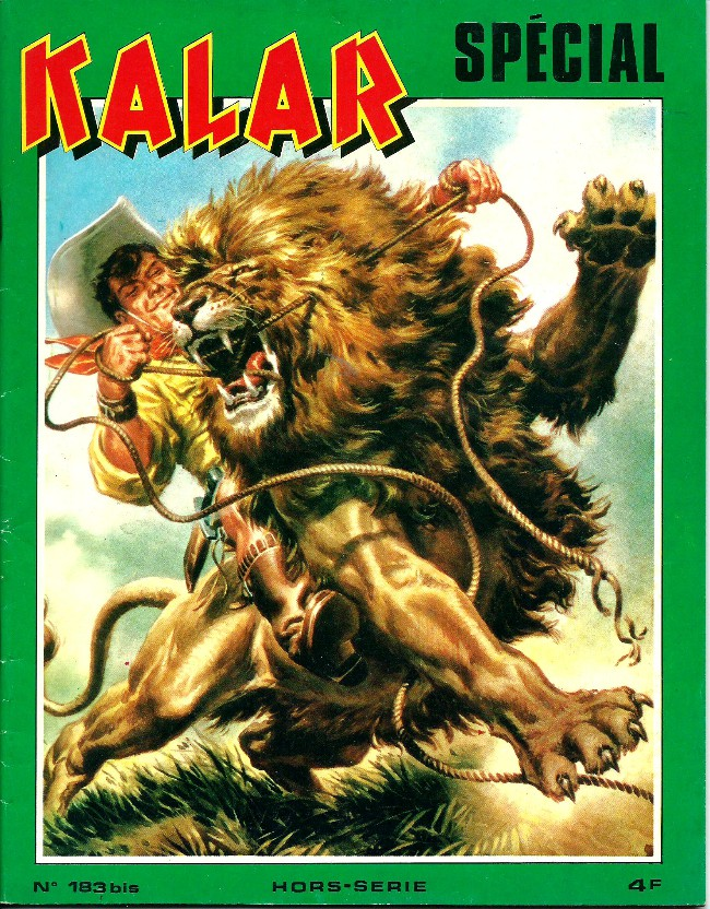 Couverture de Kalar -183Bis- kalar spécial - L'appel de la jungle