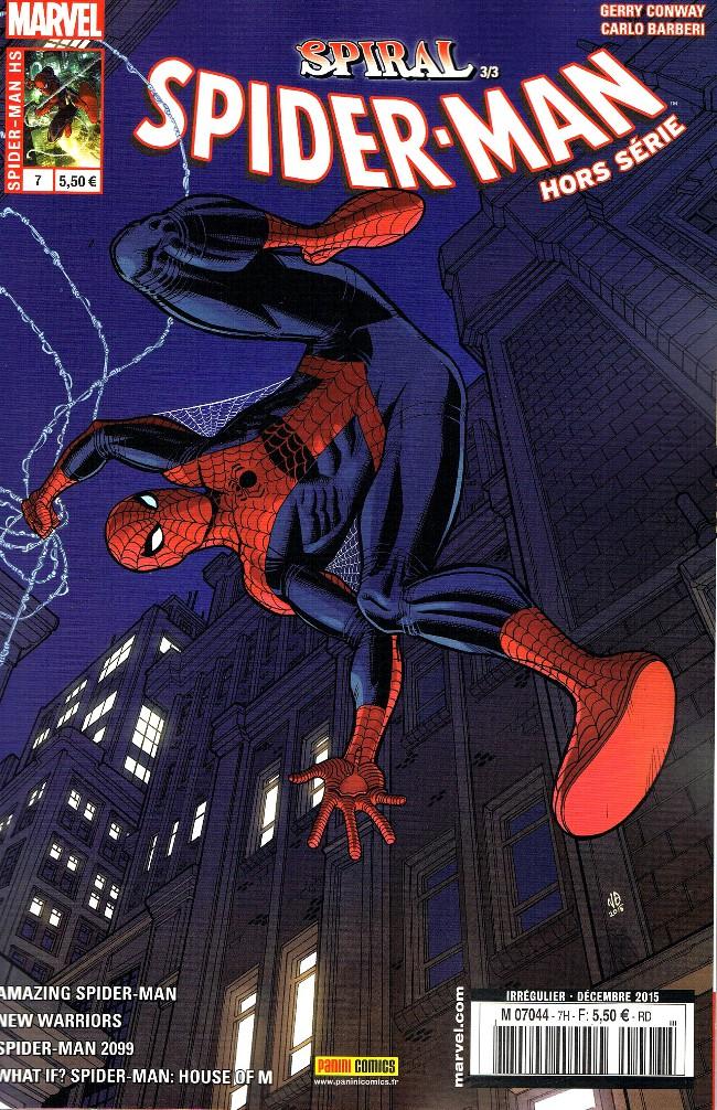 Couverture de Spider-Man Hors Série (Panini Comics, 2e série) -7- Descente aux enfers (Spiral 3/3)