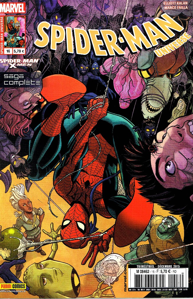 Couverture de Spider-Man Universe (Marvel France - 1re Série) -16- Spider-Man et les X-Men