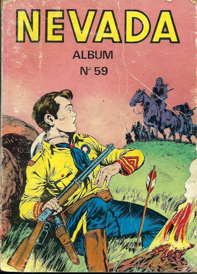 Couverture de Nevada (LUG) -Rec59- Album N°59 (du n°367 au n°370)