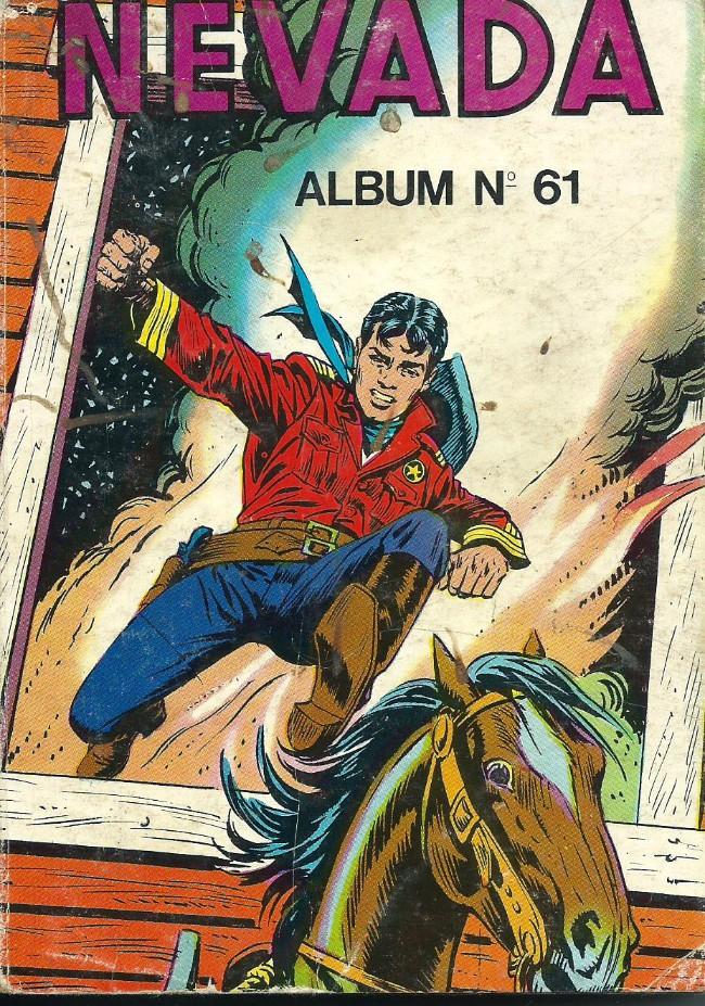 Couverture de Nevada (LUG) -Rec61- Album N°61 (du n°375 au n°378)