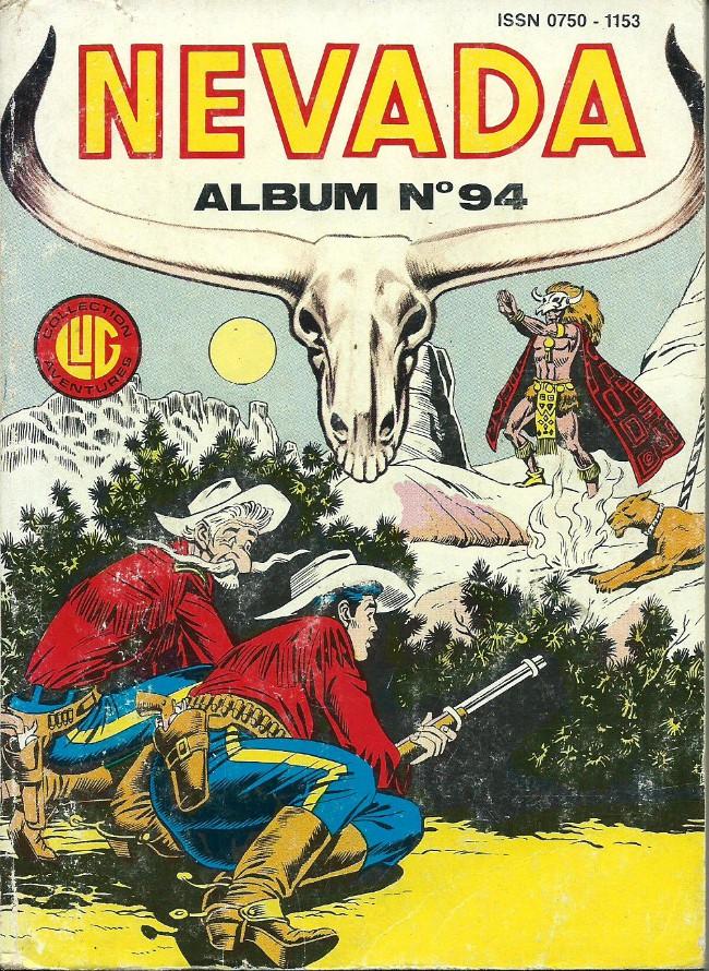Couverture de Nevada (LUG) -Rec94- Album N°94 (du n°479 au n°481)