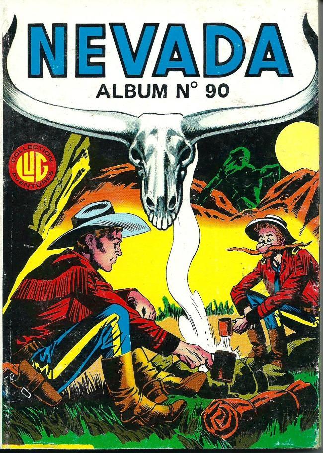 Couverture de Nevada (LUG) -Rec90- Album N°90 (du n°467 au n°469)