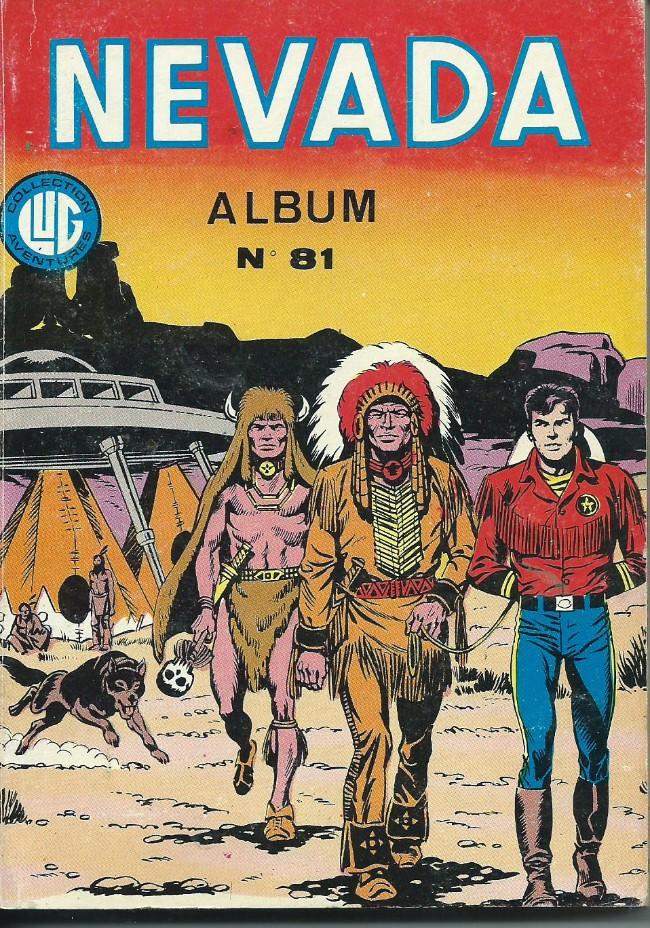 Couverture de Nevada (LUG) -Rec81- Album N°81 (du n°440 au n°442)