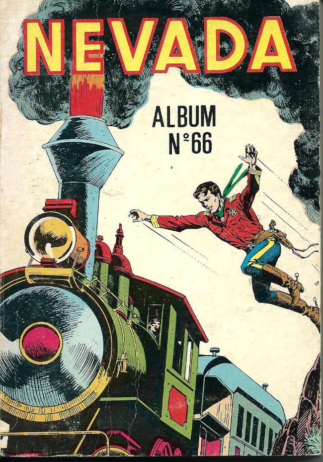 Couverture de Nevada (LUG) -Rec66- Album N°66 (du n°395 au n°397)