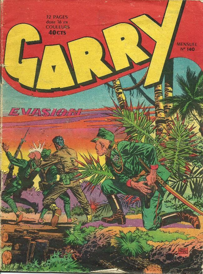 Couverture de Garry (sergent) (Imperia) (1re série grand format - 1 à 189) -140- Evasion