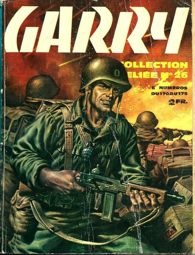 Couverture de Garry -Rec26- Collection Reliée N°26 (du n°170 au n°175)
