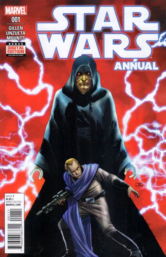 Couverture de Star Wars Annual (2016) -1- Star Wars Annual