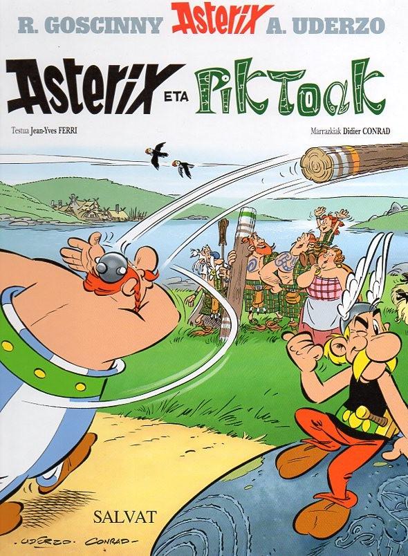 Couverture de Astérix (en langues étrangères) -35Basque- Asterix eta Piktoak