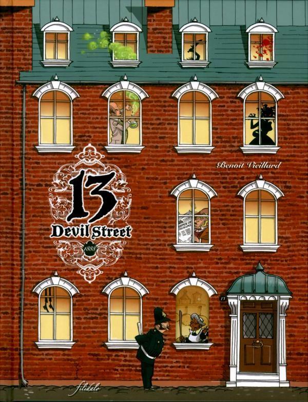 13 Devil Street (Tome 1) sur Bookys