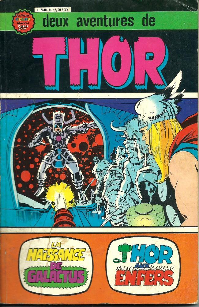 Couverture de Thor le fils d'Odin -ALB09- Album N°9 (N°3 et N°4)