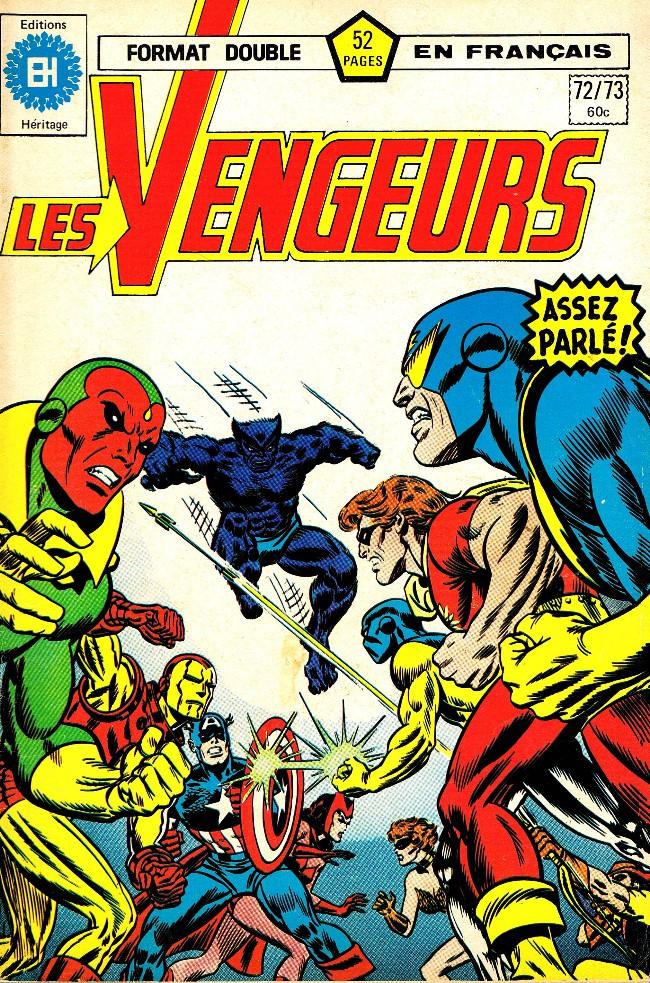Couverture de Les vengeurs (Éditions Héritage) -7273- Allez dans l'Ouest, jeunes dieux!