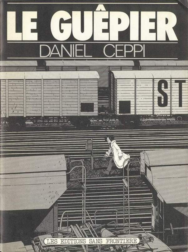 Couverture de Stéphane Clément -1- Le guêpier