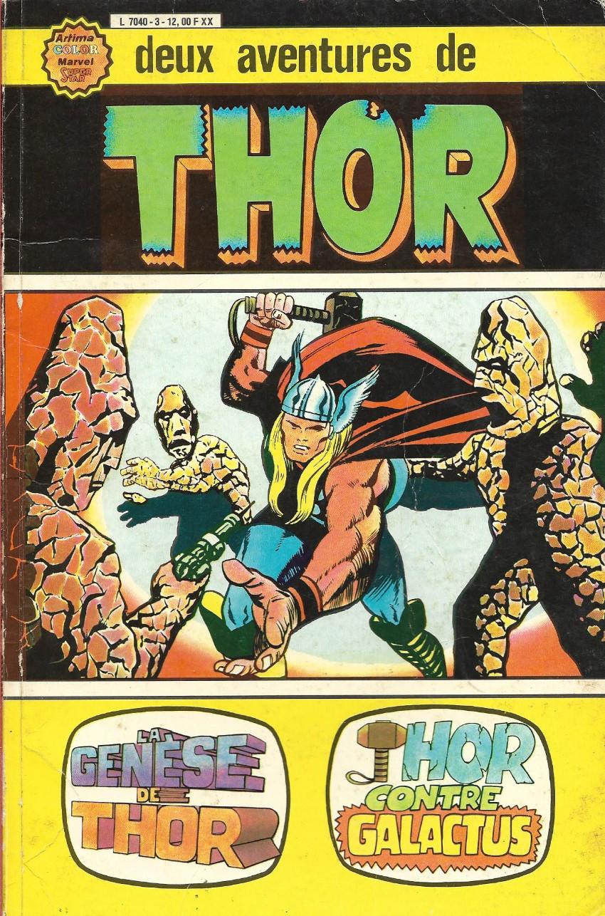 Couverture de Thor le fils d'Odin -ALB03- Album N°3 (N°1 et N°2)