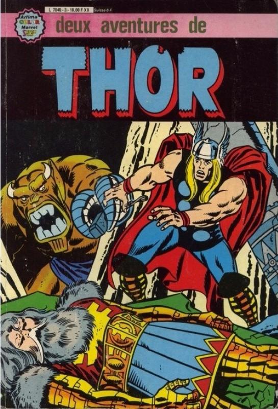 Couverture de Thor le fils d'Odin -Rec03- Album N°3 (n°14 et n°15)