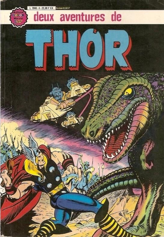Couverture de Thor le fils d'Odin -Rec04- Album N°4 (n°16 et n°17)