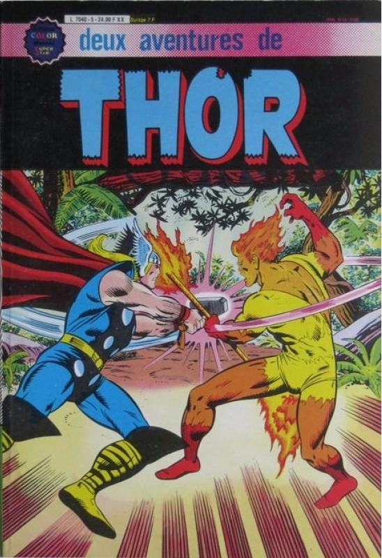 Couverture de Thor le fils d'Odin -Rec05- Album N°5 (n°18 et n°19)