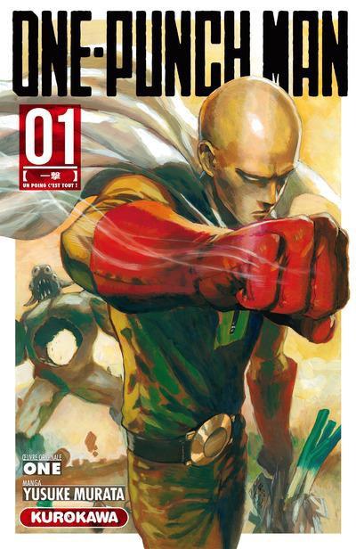 Couverture de One-Punch Man -1- Un poing c'est tout !