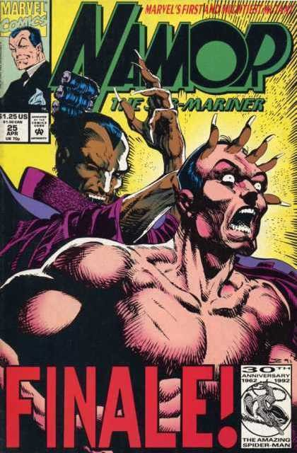 Couverture de Namor, The Sub-Mariner (Marvel - 1990) -25- She Is Driven By A Force She Does Not Even Begin To Understand...