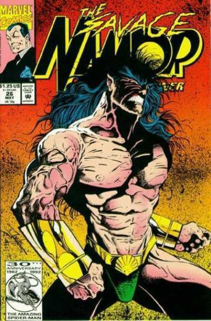 Couverture de Namor, The Sub-Mariner (Marvel - 1990) -26- Where is Namor?