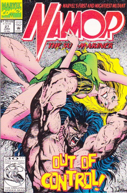 Couverture de Namor, The Sub-Mariner (Marvel - 1990) -27- Double Dealings