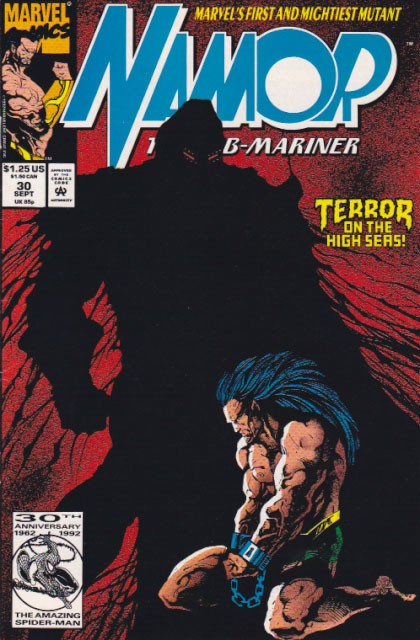 Couverture de Namor, The Sub-Mariner (Marvel - 1990) -30- Black Harvest