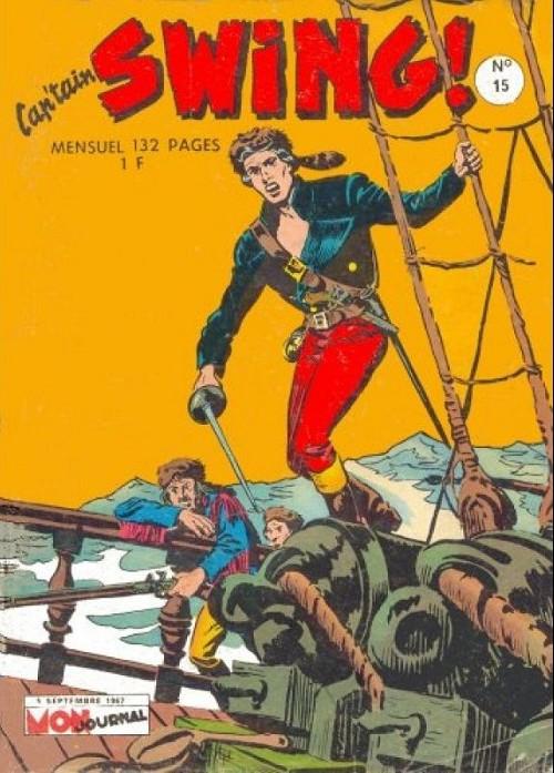 Couverture de Capt'ain Swing! (1re série) -15- Le voilier noir