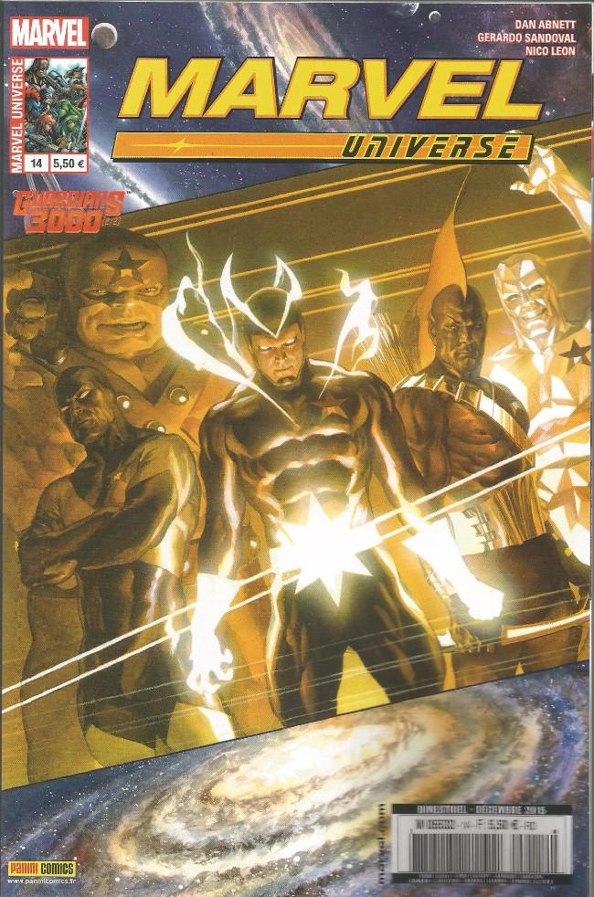 Couverture de Marvel Universe (Panini - 2013) -14- Guardians 3000 (2/2)