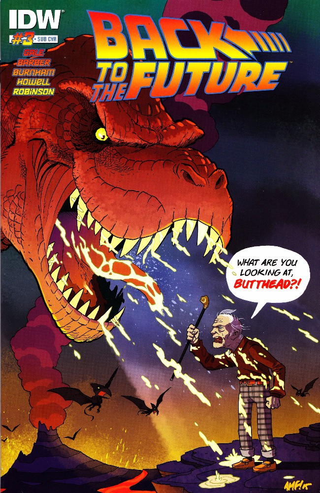 Couverture de Back to the Future (2015) -3Sub- Untold Tales and Alternate Timelines #3
