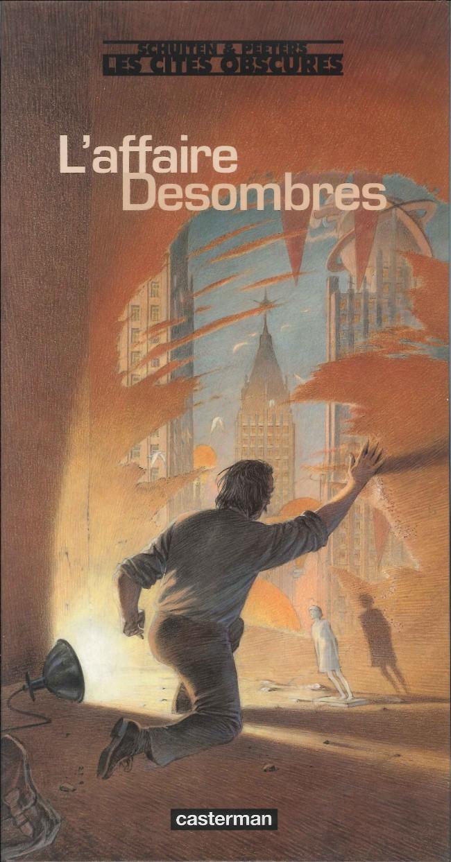 Couverture de Les cités obscures -H12- L'affaire Desombres