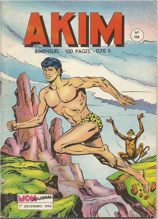 Couverture de Akim (1re série) -154- Le dieu des marais