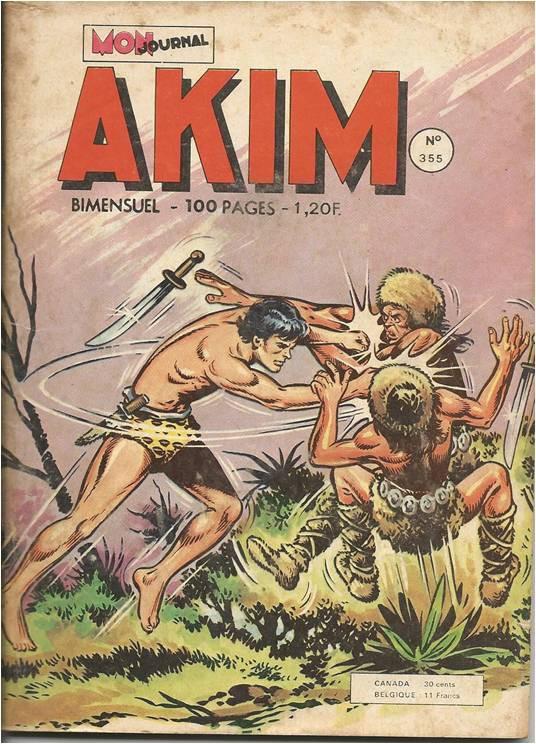Couverture de Akim (1re série) -355- Le cataclysme