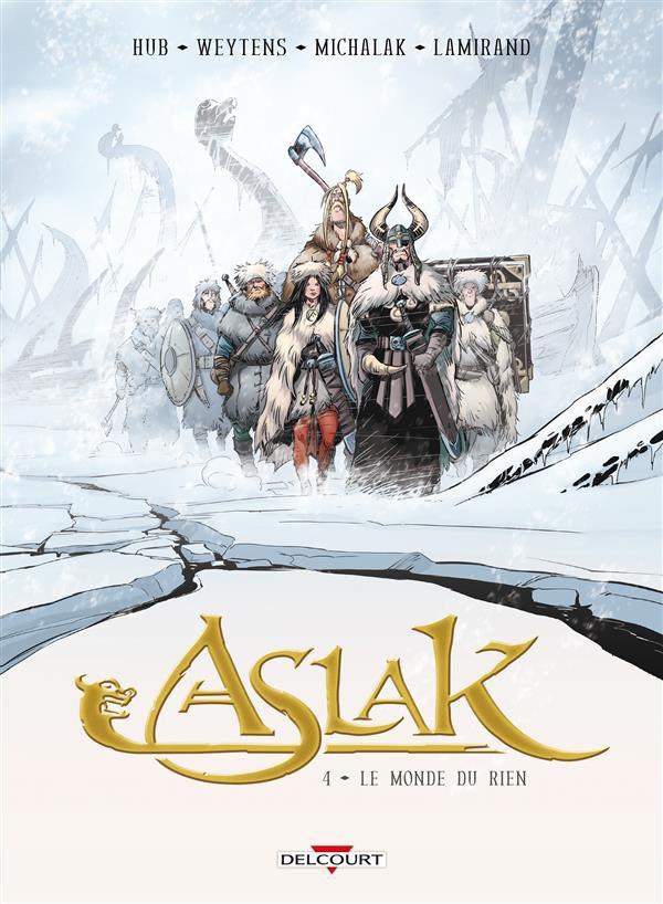 Couverture de Aslak -4- Le Monde du rien