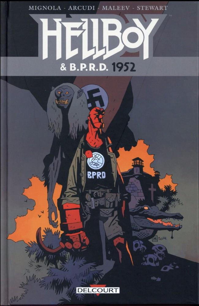Couverture de Hellboy & B.P.R.D. -1- 1952